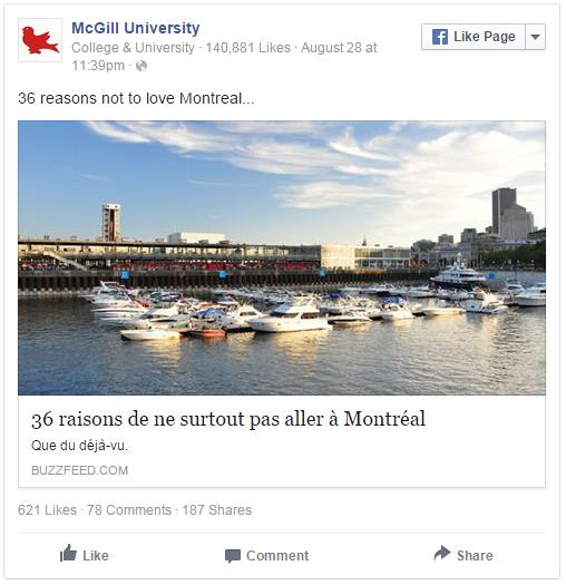 Digital of life - McGill University